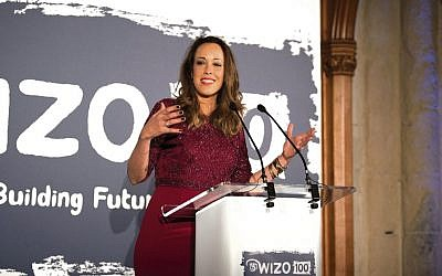 Eden Harel is speaking for WIZO NSW this week.