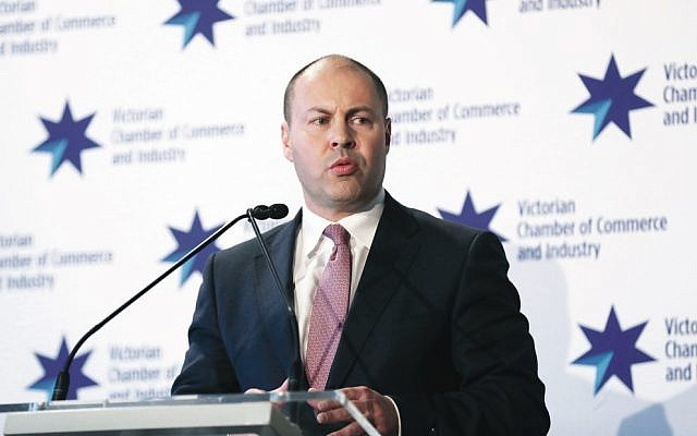 Federal Treasurer Josh Frydenberg. Photo: AAP Image/David Crosling