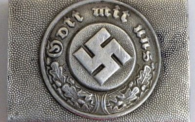 A German police buckle up for auction this week.