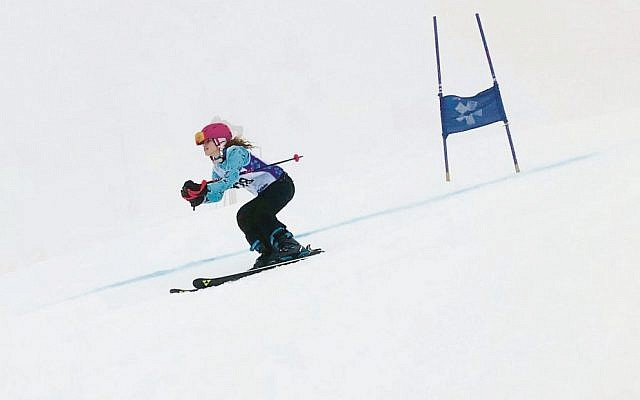 A highlight of the 2019 Maccabi Snow Sports and Australian Jewish Inter-School Championships included Bialik College's Lili Cooper (pictured in action) becoming the senior girls' winner and girls' division 1 champion.