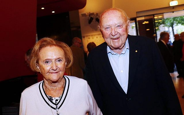 Eva and Marc Besen.