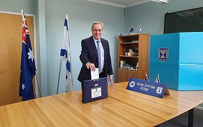 Israeli ambassador Mark Sofer.