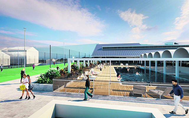 An artist's impression of the new Hakoah Club White City.