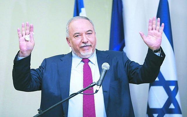 Avigdor Lieberman. Photo: AP Photo/Oded Balilty
