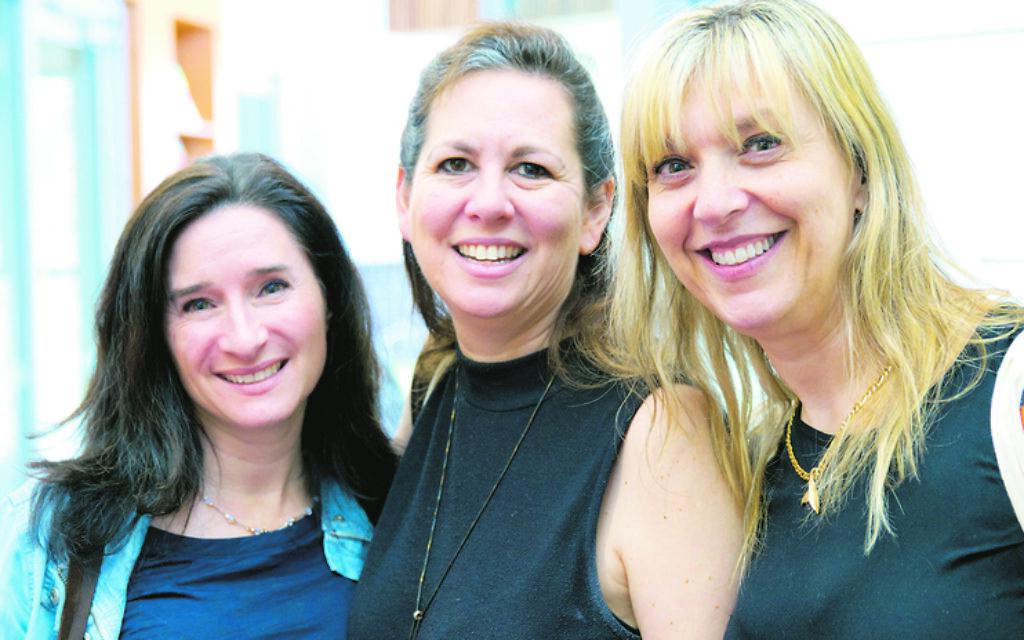 From left: Lisa Baruch, Jenny Hislop, Karyn Lewis-Burman.