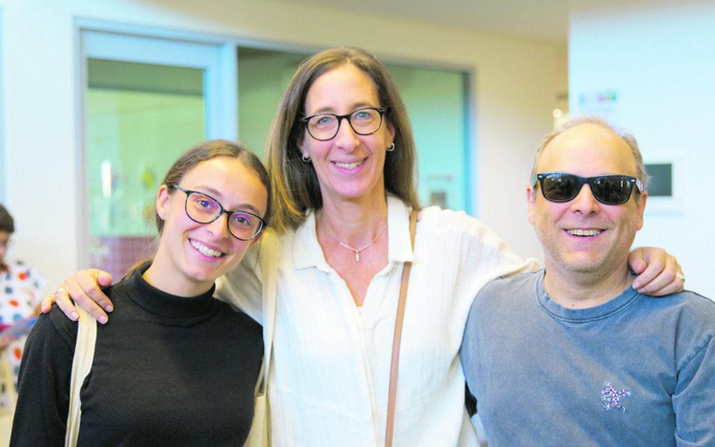 From left: Debbie, Mia and Max Futeran.