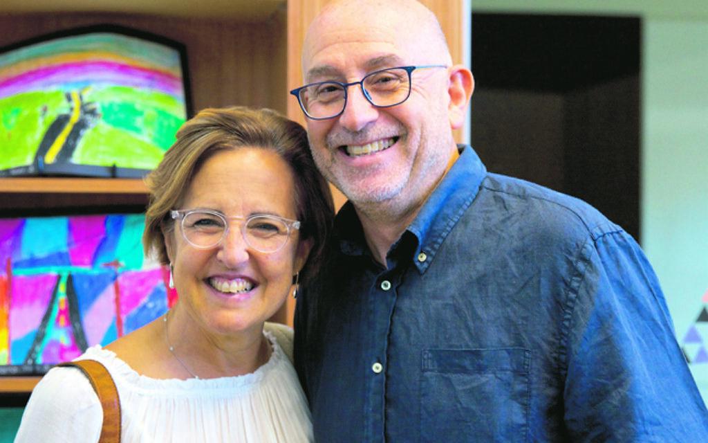 Karin and Ron Isman.