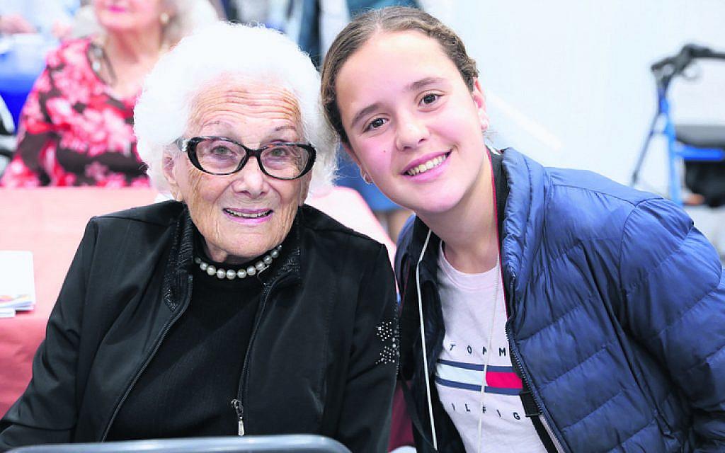 Margarit Greenberg (left), Amy Forman.