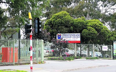 Cheltenham Secondary College. Photo: Peter Haskin