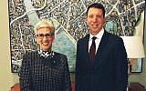 Linda Dessau (left) and Dvir Abramovich.