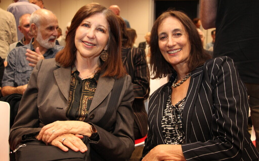 Eva Lowy (left), Nadene Alhadeff.
