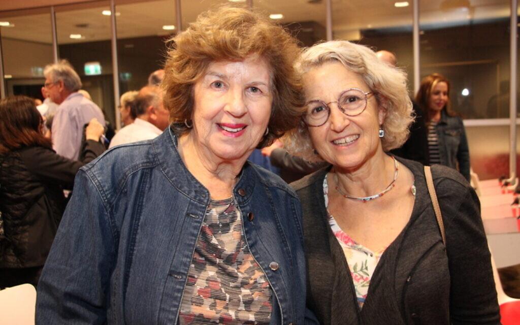 Bernice Bachmayer (left), Maxine Bachmayer.