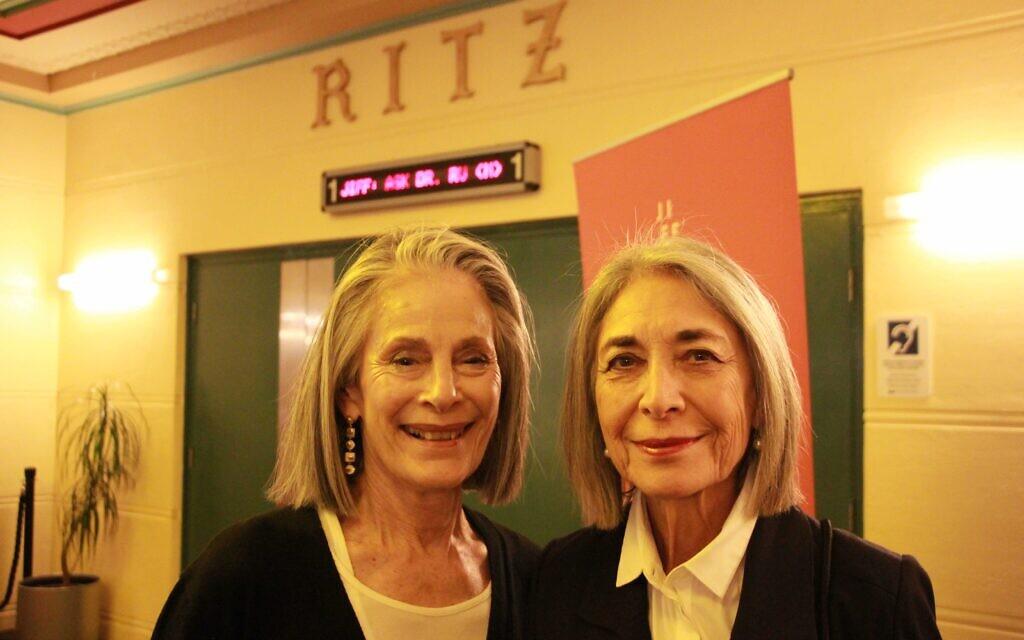 Jacquie Freedman (left), Melanie Knep.