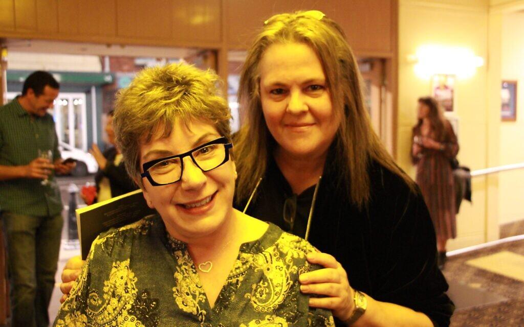 Gina Solomon (left), Judy Wilkenfeld.