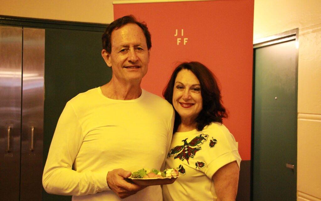 Philip and Ghita Lipschitz.