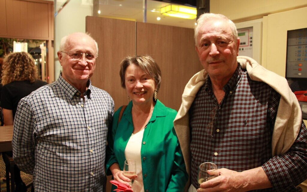 From left: Henry Liberman, Glynis Pearce, Andrew Havas.