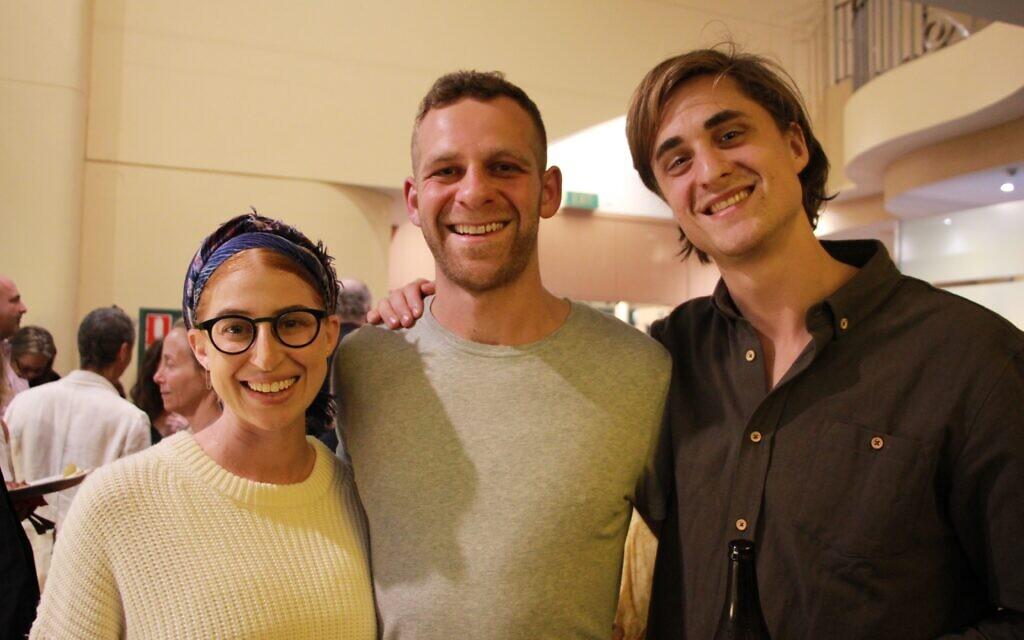 From left: Gabi Cher, Eitan Cher, Benji Tamir.