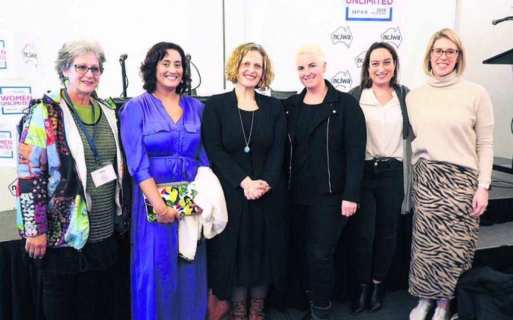 From left: Sheila Levine, Rebecca Burrows, Sara Kowal, Rachael Neumann, Gabi Crafti, Mikki Silverman.