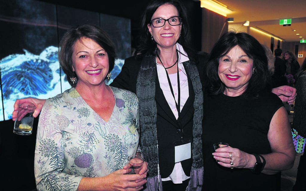 From left: Debbie Strauch, Lesley Ber, Hannah Greenberg.