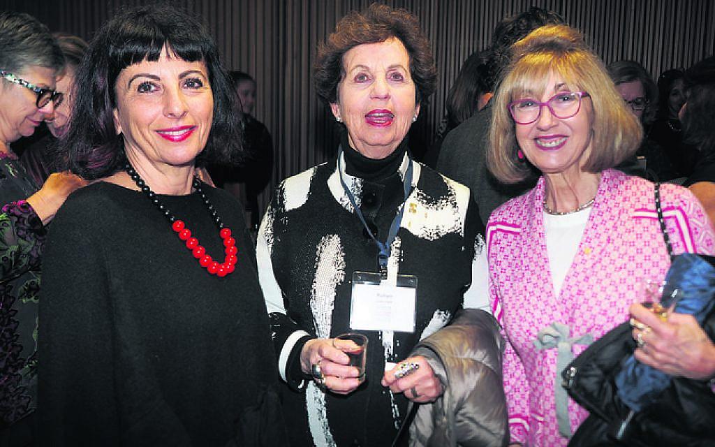 From left: Susie Ivany, Robyn Lenn, Vikki Nadel.