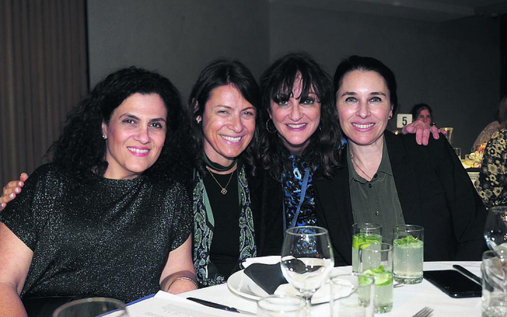 From left: Ronit Chrapot, Lisa Lurie, Annette Sweet, Roslyn Gunn.