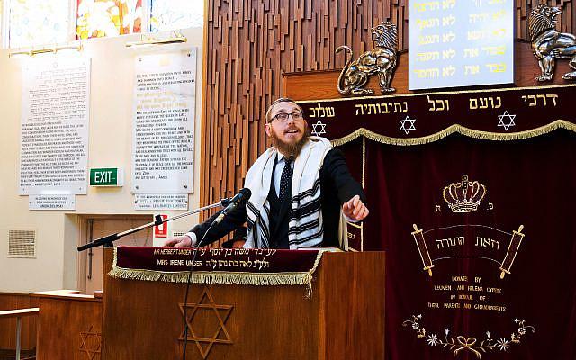 Rabbi Shmuel Karnowsky.
