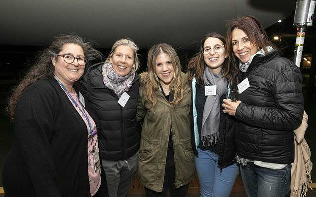 From left: Rachel Lewis, Viv Miller, Jenna-Lee Stein, Nikki Kates, Michelle Fishbine.