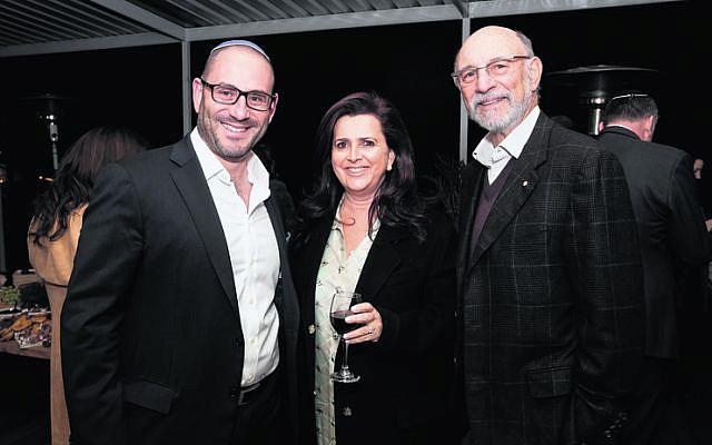 From left: Stephen Jankelowitz, Judy Lowy, Peter Philippsohn.