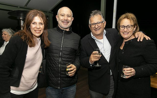 From left: Wendy and Darron Lonstein, Richard and Naomi Balkin.