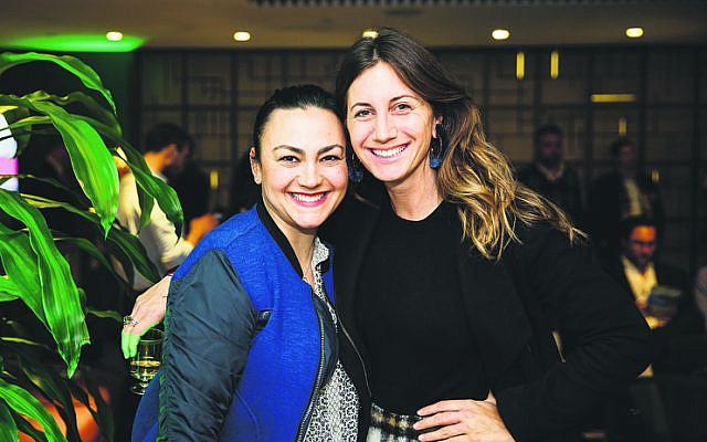 Dina White (left), Natalie Kirschner.
