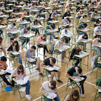 HSC exams are underway.
