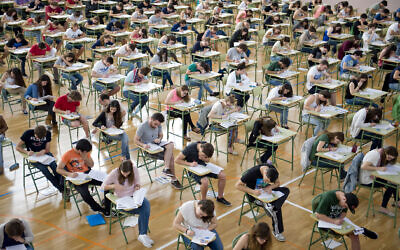 HSC exams are underway.