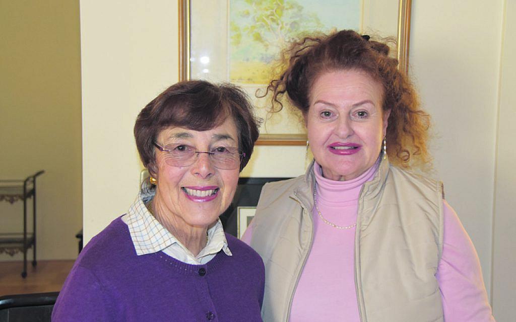 Ruja Varon (left), Lorraine Weiner.
