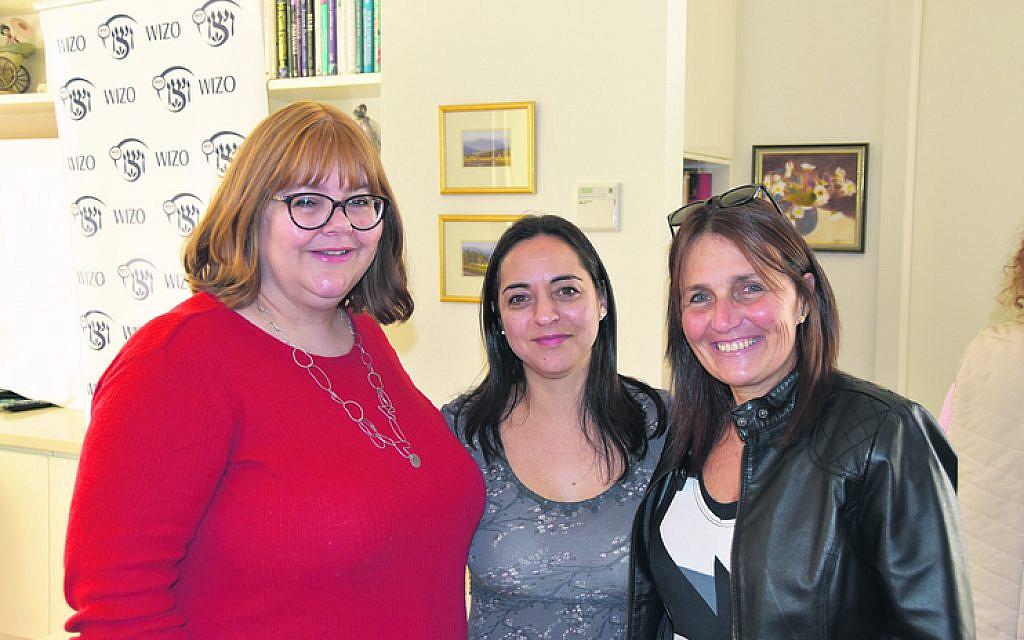 From left: Chavivah van der Plaat, Pamela Schwartz, Loren Sher.