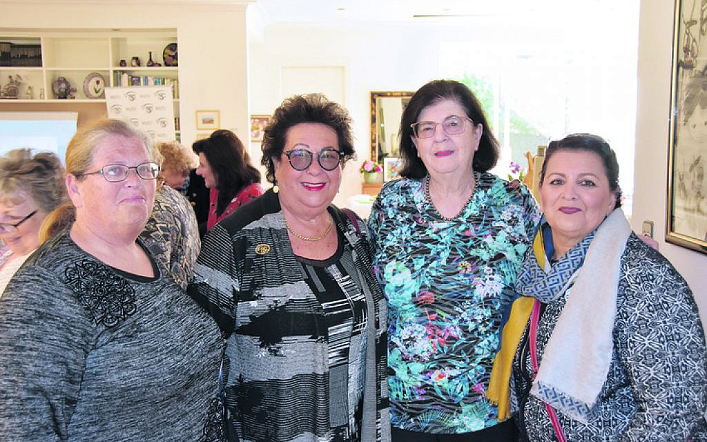 From left: Rachel Konefka, Paulette Cherny, Betty Frid, Anita Bejerano.