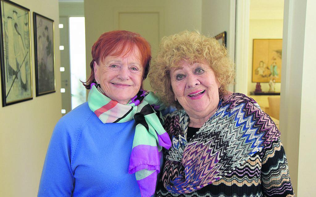 Ann Carew (left), Ruth Scheuer.