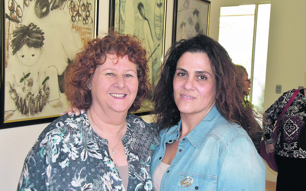 Sylvia Green (left), Ronit Chrapot.