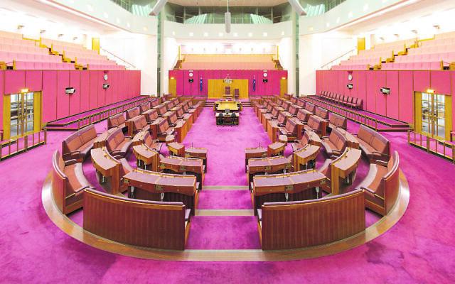 The Australian Senate.