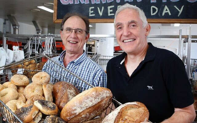 Grandma Moses owner Manfred Freinkel will donate 100 per cent of the bakery's turnover this Sunday to drought-affected farmers. Photo: Noel Kessel
