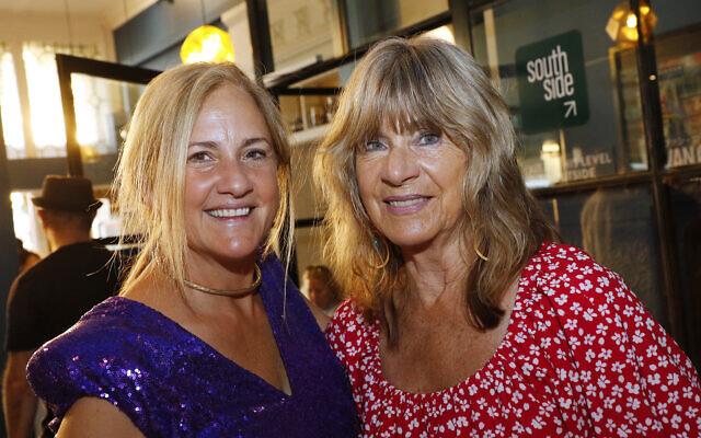 Lindy Tamir (left), Melma Hammersfeld.