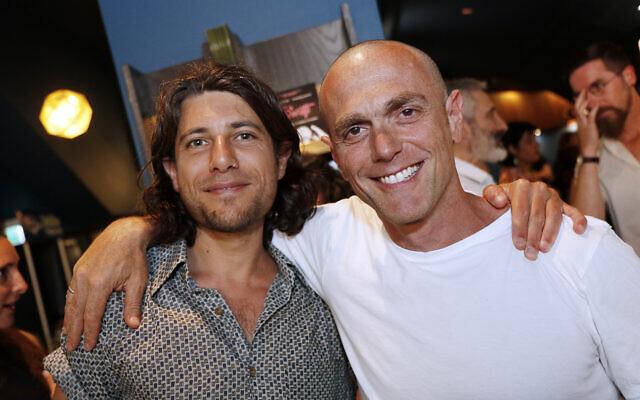 Gideon Priess (left), Simon Starr.