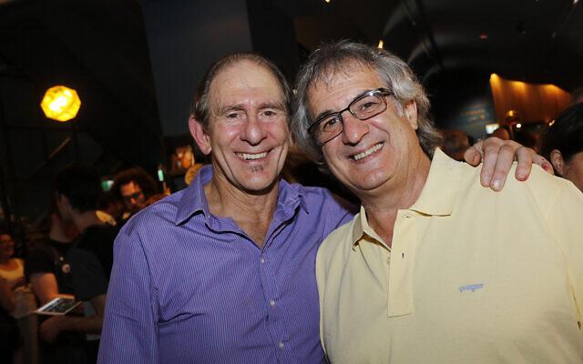David Schulberg (left), Maurice Klein.