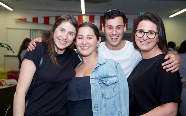 Gemma Fink, Rebecca Balkin, Rami Tal, Tamar Balkin.