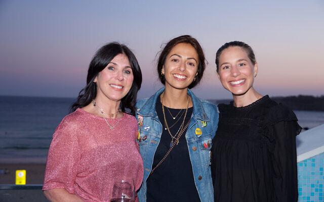 Shellee Maister, Leyat Reuben, Rachel Cohen.