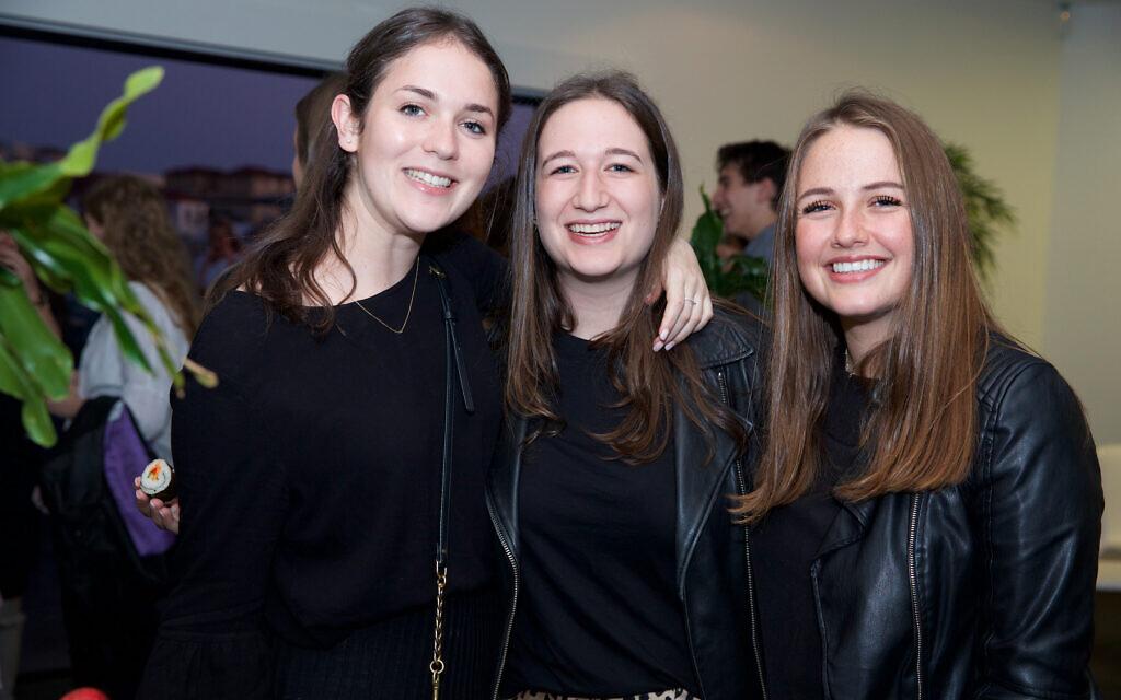 Gabi Resnick, Emma Sharp, Adena Prissman.