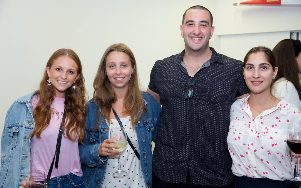 Tayla Cohen, Daria Borecki, Josh Gishen, Danya Saltoon.