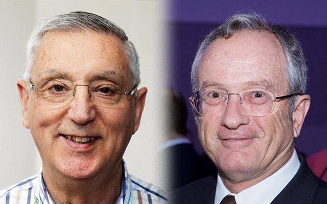 Brian Samuel (left) and David Knoll.