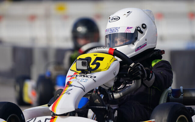 Brad Majman in action at the SuperNats in Las Vegas.