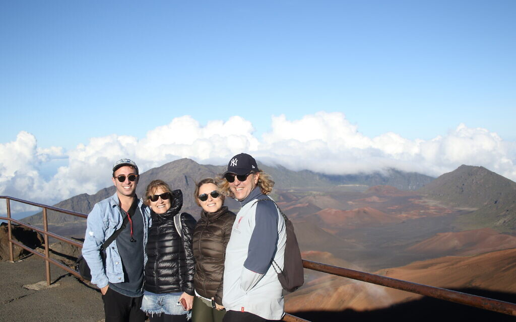 Edana Chilchik entered this photo of her family on holiday in Hawaii.