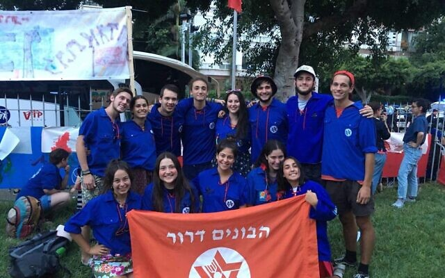 Habonim's Shnat group from 2018 spent a year in Israel, but next year's group is in doubt.